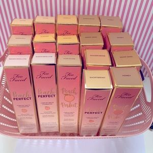 Too Faced Peach Perfect Foundation — honey